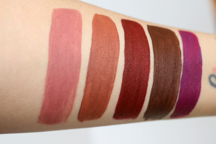 Ofra Liquid Lipstick Swatches