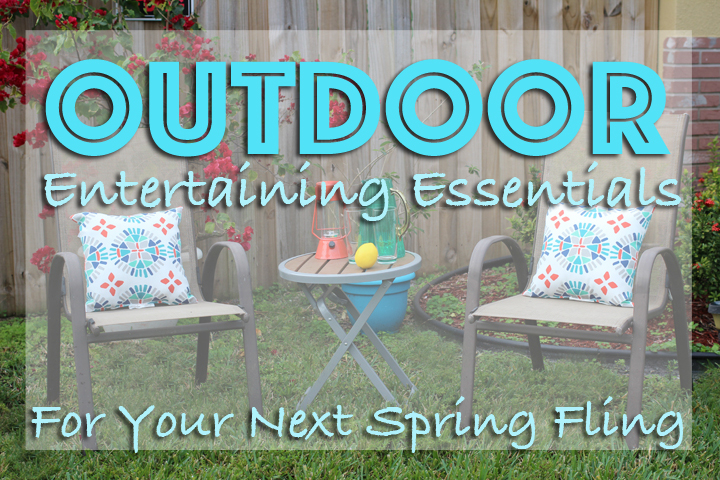 outdoor entertaining essentials