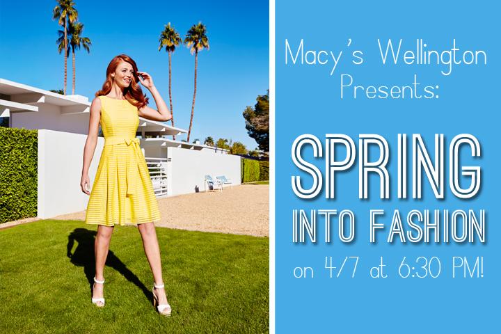 macys spring into fashion