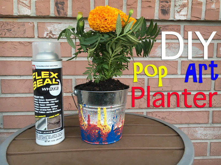 DIY Pop Art Planter