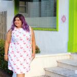 #UnitedlyPlus Style Challenge: Tropical Vibes + Flamingo Dress