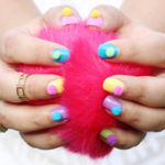 Pom Pom DIY Nail Art Tutorial
