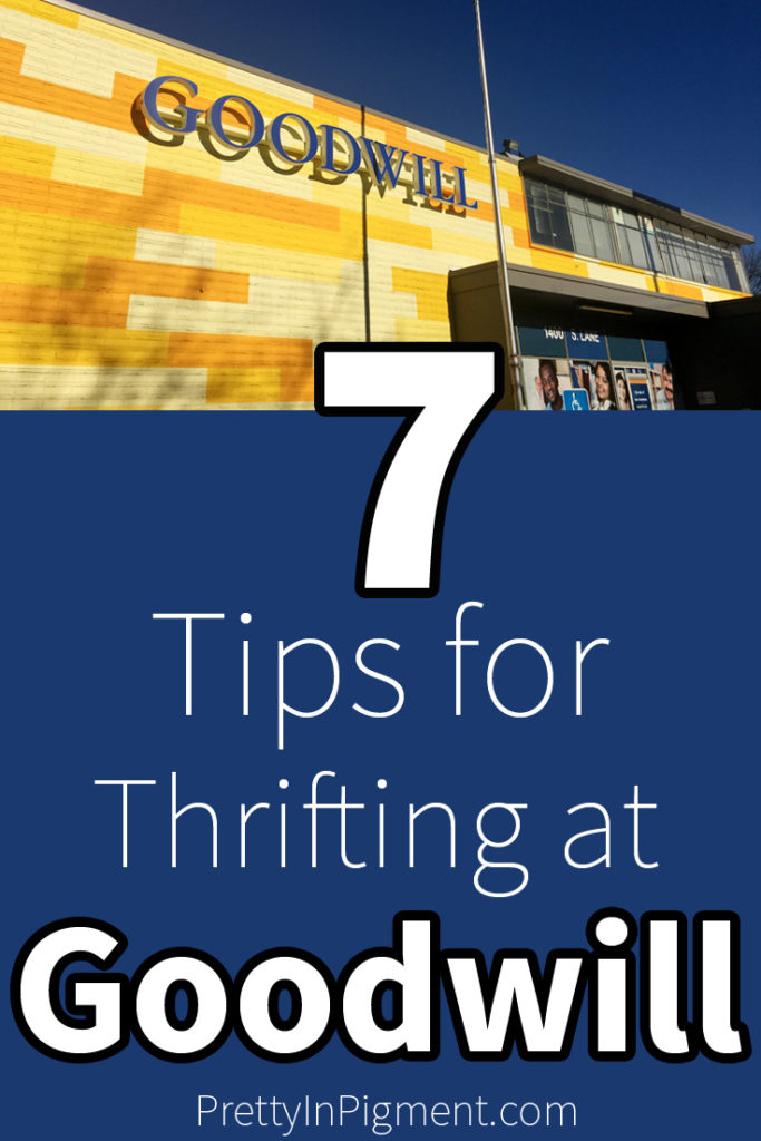 goodwill store shopping tips