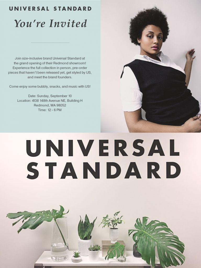 universal standard events