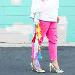 5 Tips for Wearing  Colorful Denim to Brighten Your Wardrobe (and Day)!