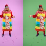 DIY Smarties Costume