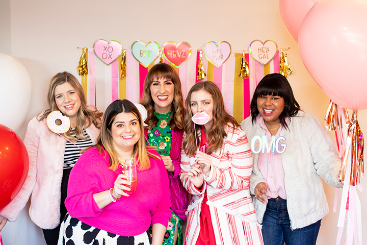 How to Host a Colorful Galentine's Day Party