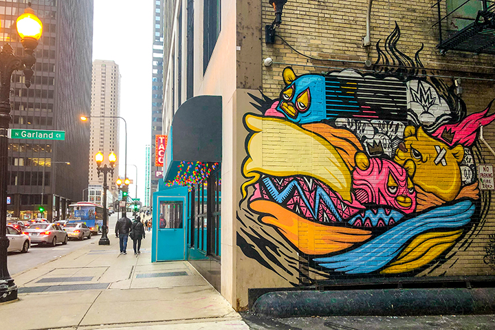 colorful places in chicago