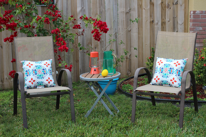 ways to add color to your outdoor space